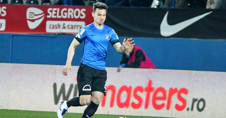 FC Viitorul - Inter Baku 1-2, într-un meci amical