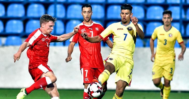Preliminariile CE U21: România - Elveția 1-1