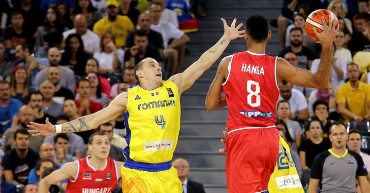 FIBA EuroBasket 2017: România - Ungaria 71-80