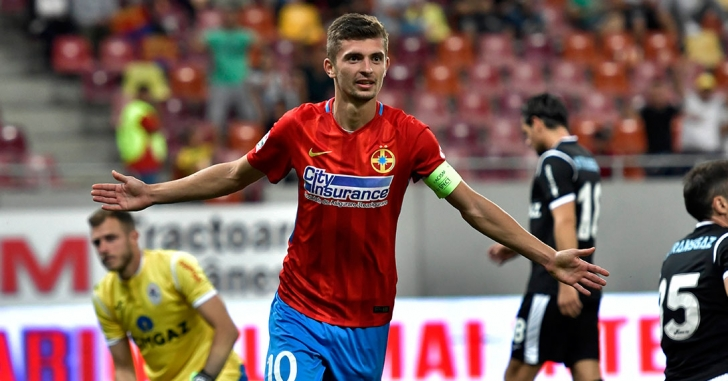 Liga 1: FCSB - Gaz Metan Mediaș 4-0