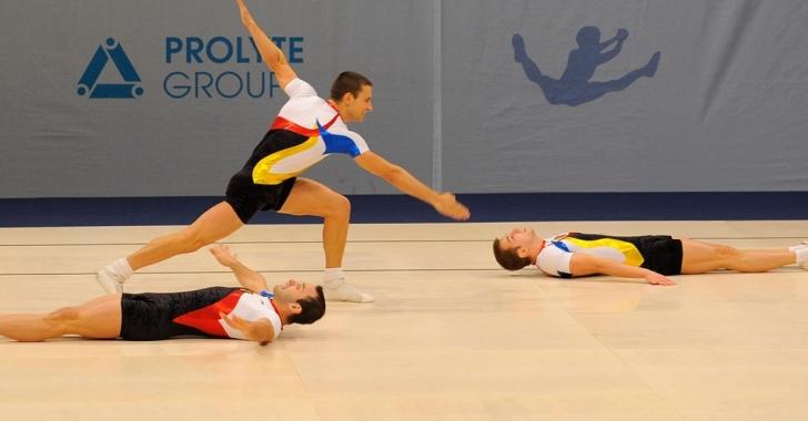 8 medalii câștigate de România la Campionatele Europene de Gimnastică Aerobică