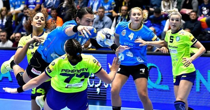 EHF Champions League: CSM București - RK Krim Mercator 30-18