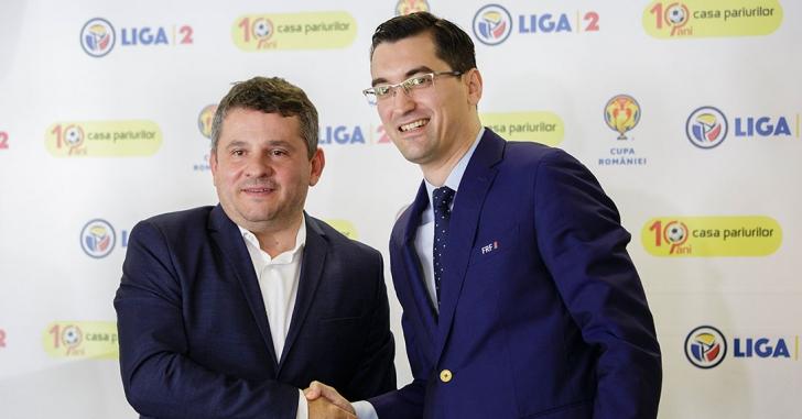 Casa Pariurilor este noul sponsor al Ligii 2 și al Cupei României