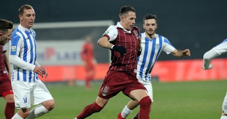Liga 1: CFR Cluj - CSM Poli Iași 1-0