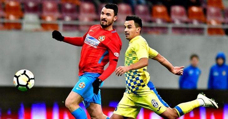 Liga 1: FCSB - Juventus București 4-0