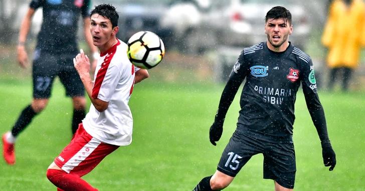 Liga 2: AFC Hermannstadt se menține pe prima poziție
