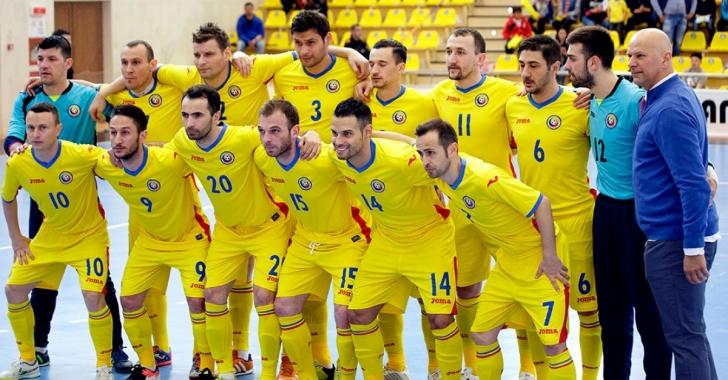 Lotul lărgit al României pentru UEFA Futsal EURO 2018