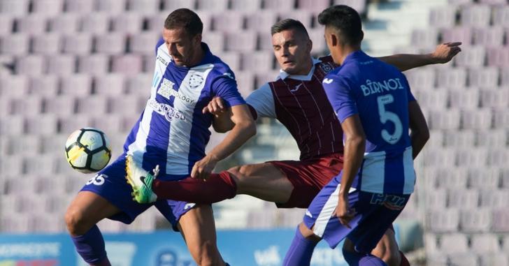 Liga 1: CFR Cluj - ACS Poli Timișoara 1-0