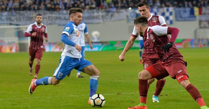 Liga 1: CS U Craiova - CFR Cluj 2-1
