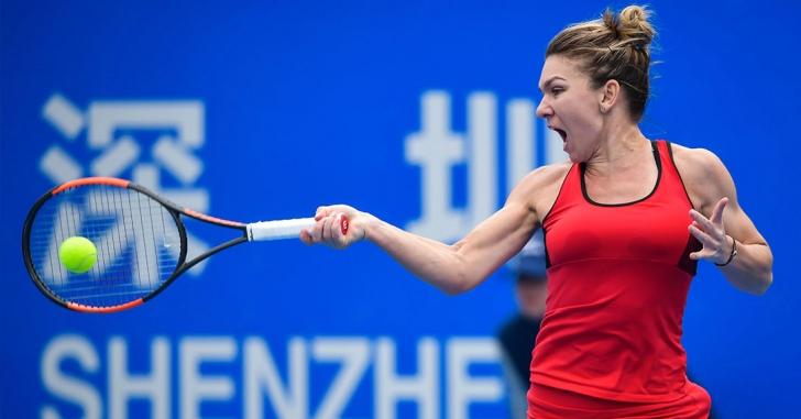 WTA Shenzhen: Halep joacă în ambele finale
