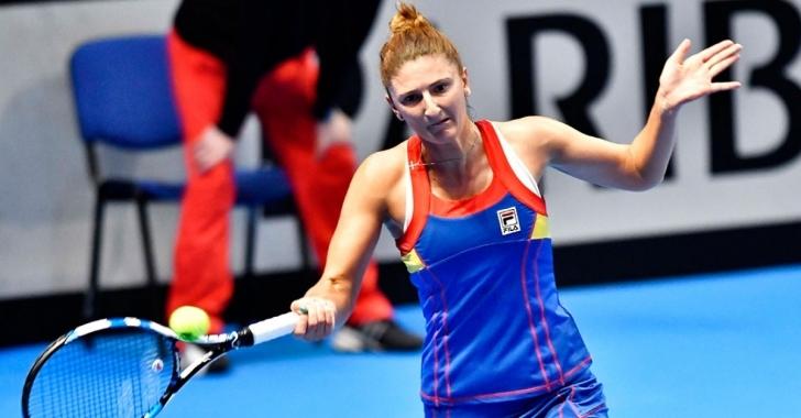 WTA St. Petersburg: Doar un set din trei pentru Begu