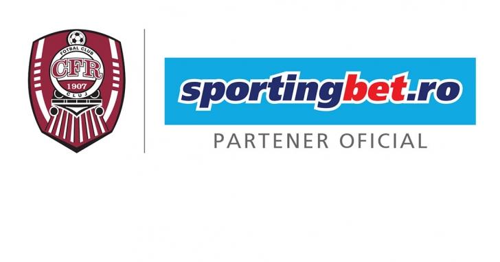 Sportingbet intră în echipa partenerilor echipei CFR Cluj