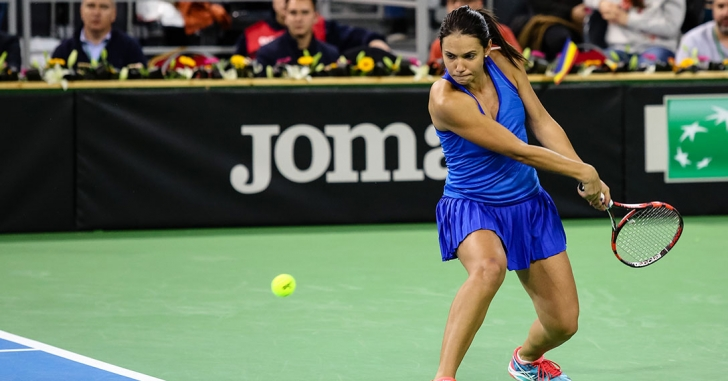 WTA Indian Wells: Olaru pierde din postură de principală favorită