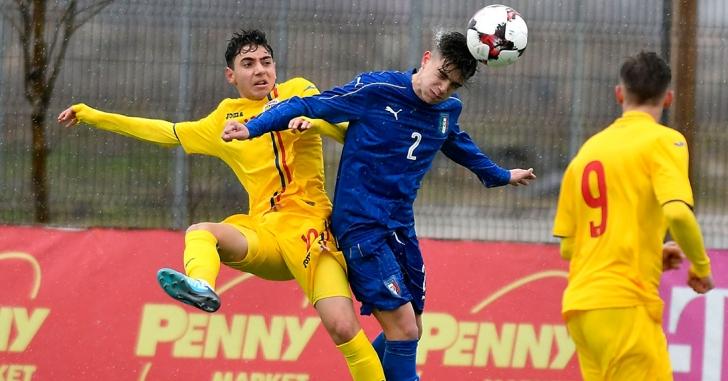 România U16 a învins cu 1-0 Italia U15