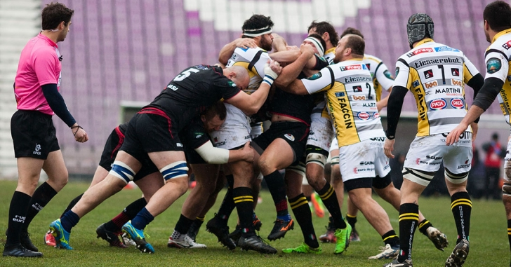 Timișoara Saracens vs Heidelberger în play-off-ul Continental Shield