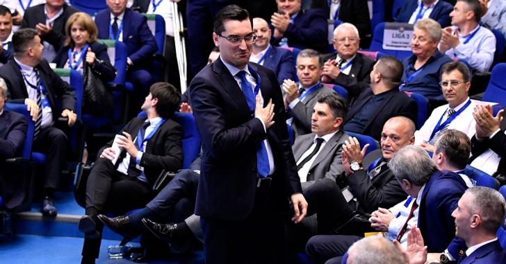 Răzvan Burleanu a fost reales președintele Federației Române de Fotbal