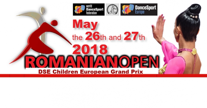 Spectacol de dans sportiv cu 500 de perechi la Romanian Open 2018
