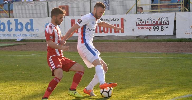 Liga 1: Botoșenenii pleacă cu puncte de la Sfântu Gheorghe