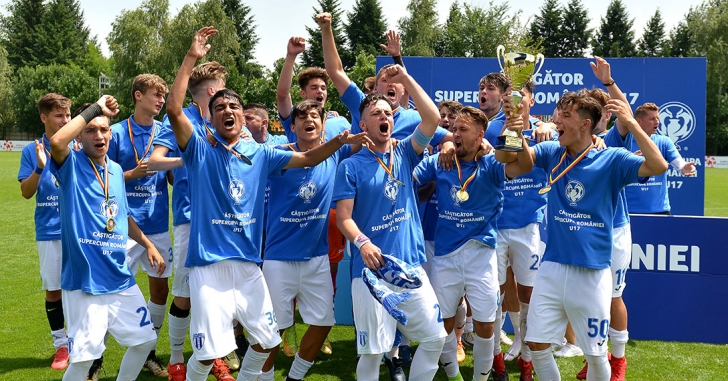 CS U Craiova a câștigat Supercupa României U17