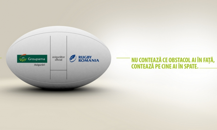 Groupama Asigurări devine asiguratorul oficial al echipei naționale de rugby si al FRR