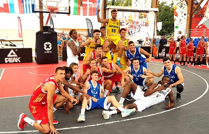 Naționala masculină U18 de baschet 3x3 s-a calificat la FIBA Europe Cup