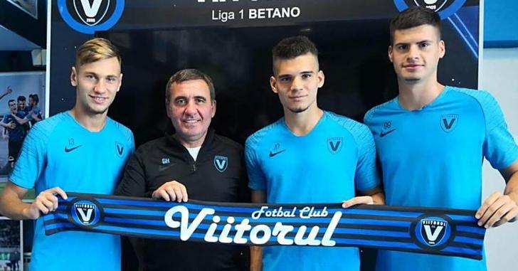 FC Viitorul le-a prelungit cu cinci ani contractele lui Ianis Hagi, Denis Drăguș și Tudor Băluță