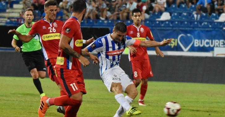 Liga 1: Golurile lui Cristea stabilesc învingătoarea în Copou
