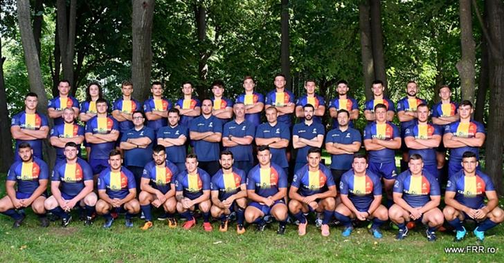 Lotul României pentru World Rugby U20 Trophy