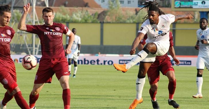 Liga 1: CFR pleacă cu punct de la Mediaș