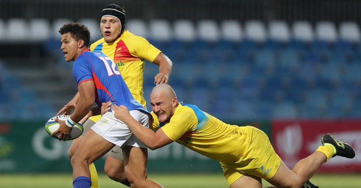 Stejăreii au fost învinși de Namibia în prima partidă de la World Rugby U20 Trophy