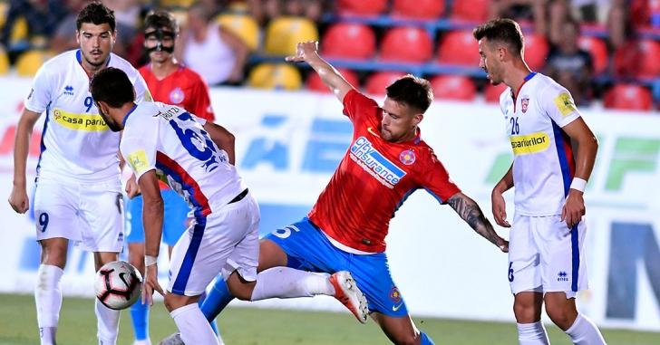 Liga 1: FCSB ratează desprinderea în clasament