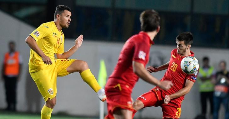 Nations League: Fără gol în meciul de debut cu Muntenegru
