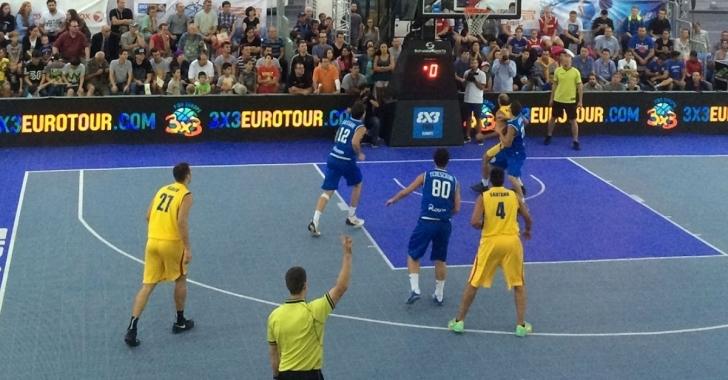 FIBA 3x3 Europe Cup se desfășoară în premieră mondială la Circul Metropolitan din București