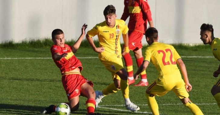 România U18 a învins cu 2-1 Muntenegru în al doilea meci amical