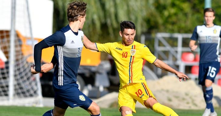 România U19 a învins Suedia cu 2-1