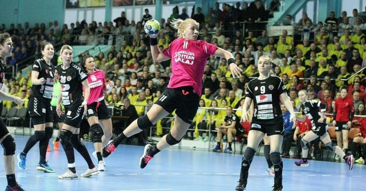 EHF Cup: Remiză în manșa tur de la Zalău