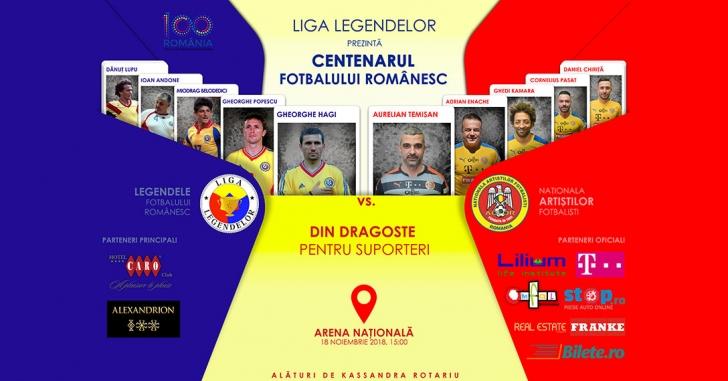 Centenarul fotbalului românesc