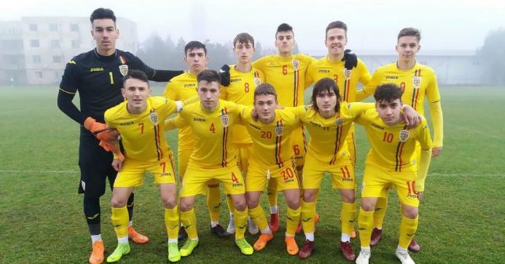 România U17 – Serbia U17 0-1, într-un meci de pregătire