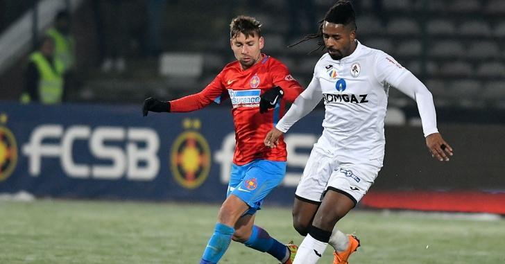 Liga 1: FCSB obține un succes cu emoții în Trivale