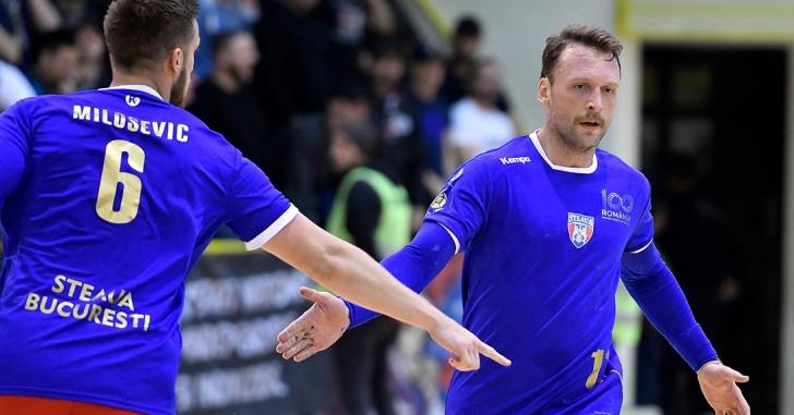 SEHA League: Doi steliști în echipa ideală a lunii noiembrie