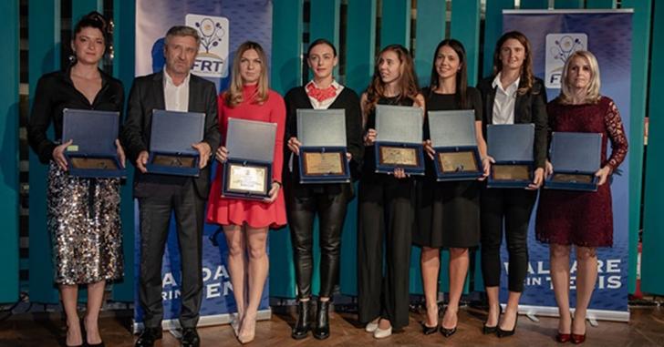 """Simona Halep și Marius Copil, desemnați cei mai buni jucători de tenis din România la """"Gala Tenisului Românesc"""""""