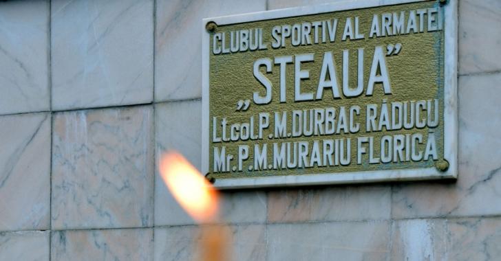 CSA Steaua București își comemorează eroii căzuți la Revoluția din 1989