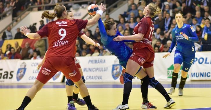 Cupa EHF: Înfrângeri pentru echipele românești