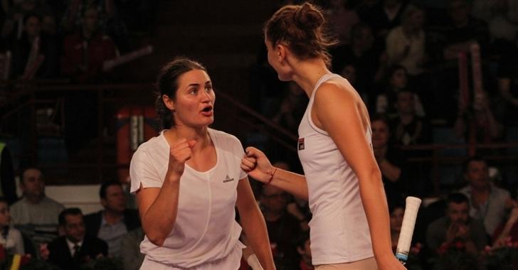 WTA Hua Hin: Begu și Niculescu avansează și în proba de dublu