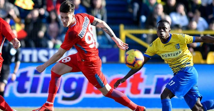 Liga 1: Golul lui Man și gafa lui Bălgrădean stabilesc scorul la Călărași