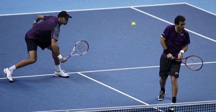 ATP Sofia: Doar eliminări în proba de dublu