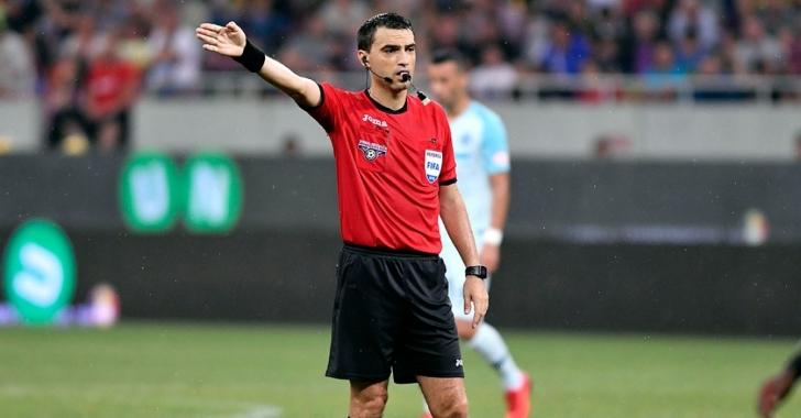 Ovidiu Hațegan, delegat în Europa League