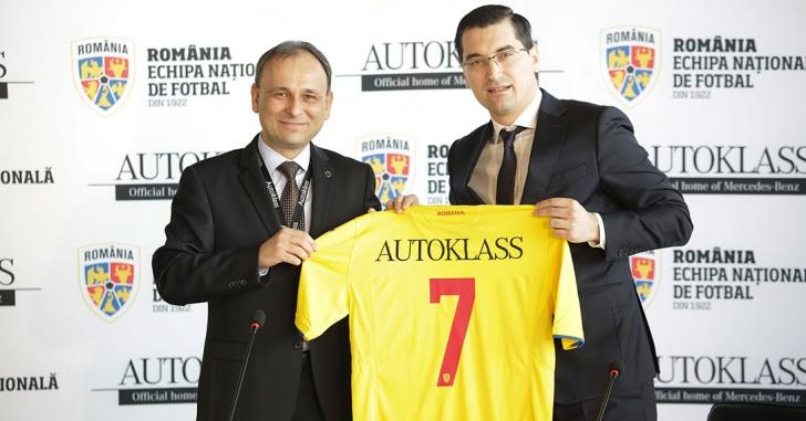 Autoklass Grup a devenit partener oficial al Echipei Naționale de fotbal a României