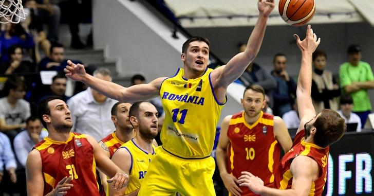 FIBA EuroBasket 2021 Pre-Qualifiers: România a învins Macedonia
