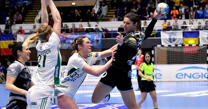 """EHF Champions League: """"Tigroaicele"""" nu obțin revanșa cu Györ"""